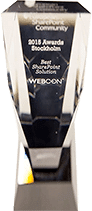 Best SharePoint Solution award for WEBCON BPS