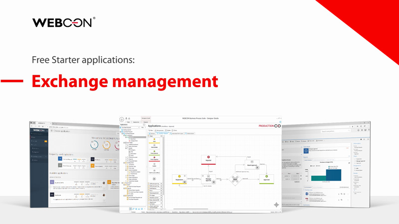 WEBCON BPS Starter - exchange management