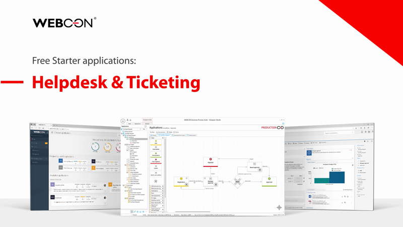 WEBCON BPS Starter - helpdesk & ticketing