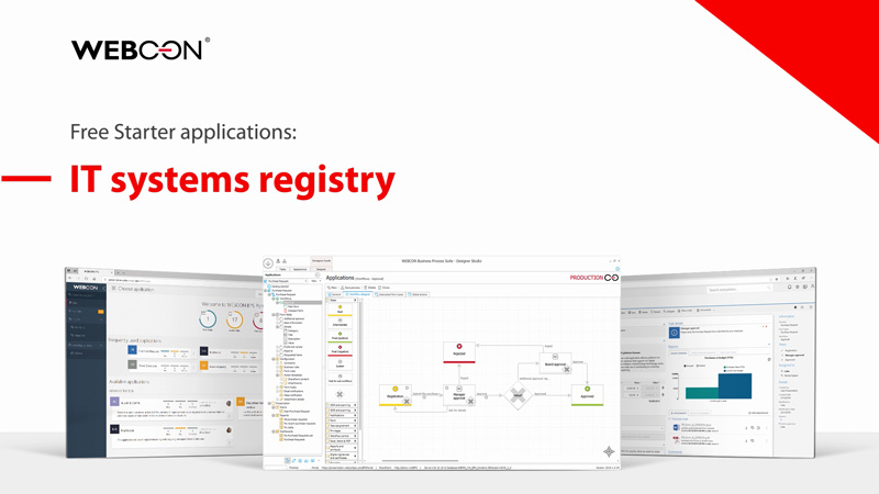WEBCON BPS Starter - IT System Registry
